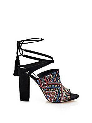 Absolute Footwear, Sandali donna, Blu (Blu), 38