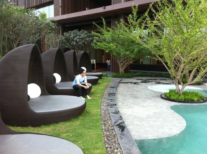 outdoor landscaping ideas. Landscape Designs~ This Cozy Idea Is A Part Of The Hilton Hotel Thailand Outdoor-living Outdoor Landscaping Ideas H