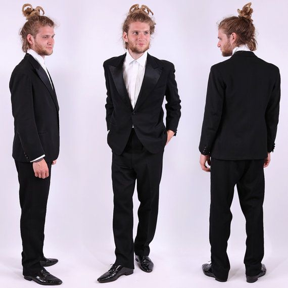 Hey, I found this really awesome Etsy listing at https://www.etsy.com/listing/101531492/1930s-tuxedo-jacket-mens-black-great