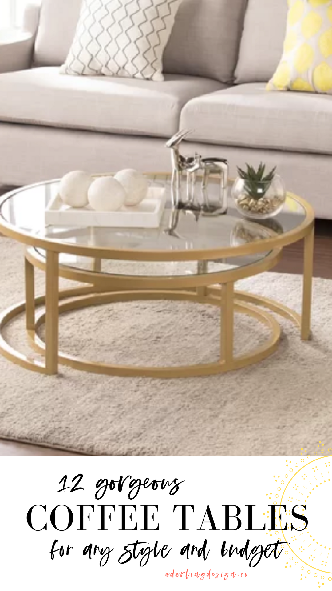 Gorgeous Living Room Coffee Tables Ideas For Small Spaces On A Budget Living Room Coffee Table Coffee Table Coffee Table Small Space