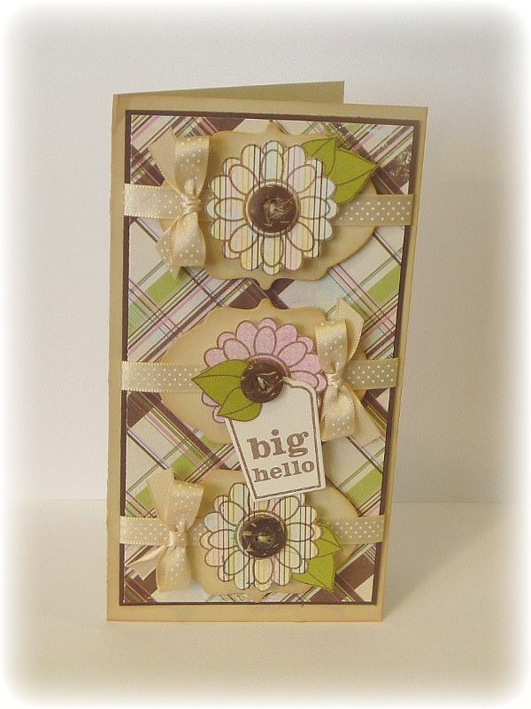 The Stamping Scrapbooker: Viva la Verve! September Week 1--Big Hello