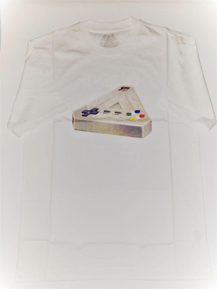 ee2c39fb354c2 PALACE SKATEBOARDS PALBOY WHITE TEE T-SHIRT SIZE M MEDIUM FW18 NINTENDO  TRIFERG  fashion  clothing  shoes  accessories  mensclothing  shirts (ebay  link)