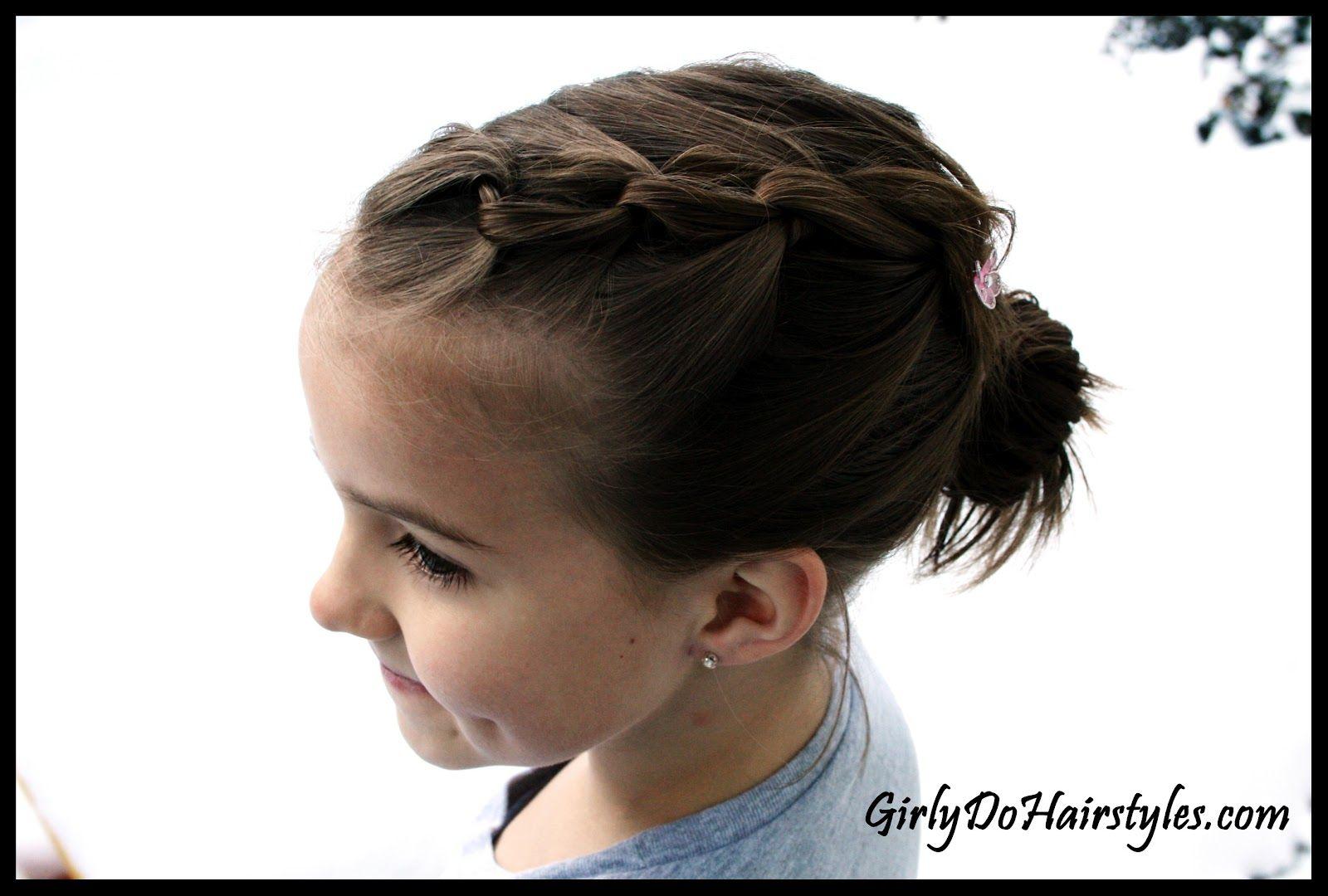 Girly do hairstyles by jenn chain braiding kid hair pinterest