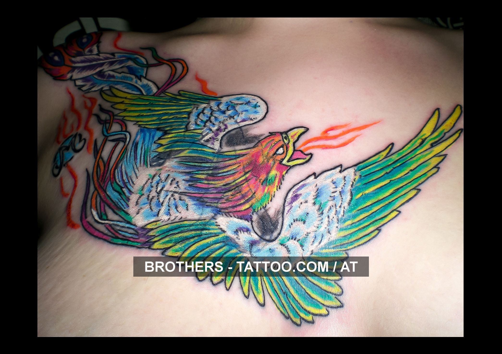 Cool tattoo ideas for brothers phonix tattoo cover up year  stagram