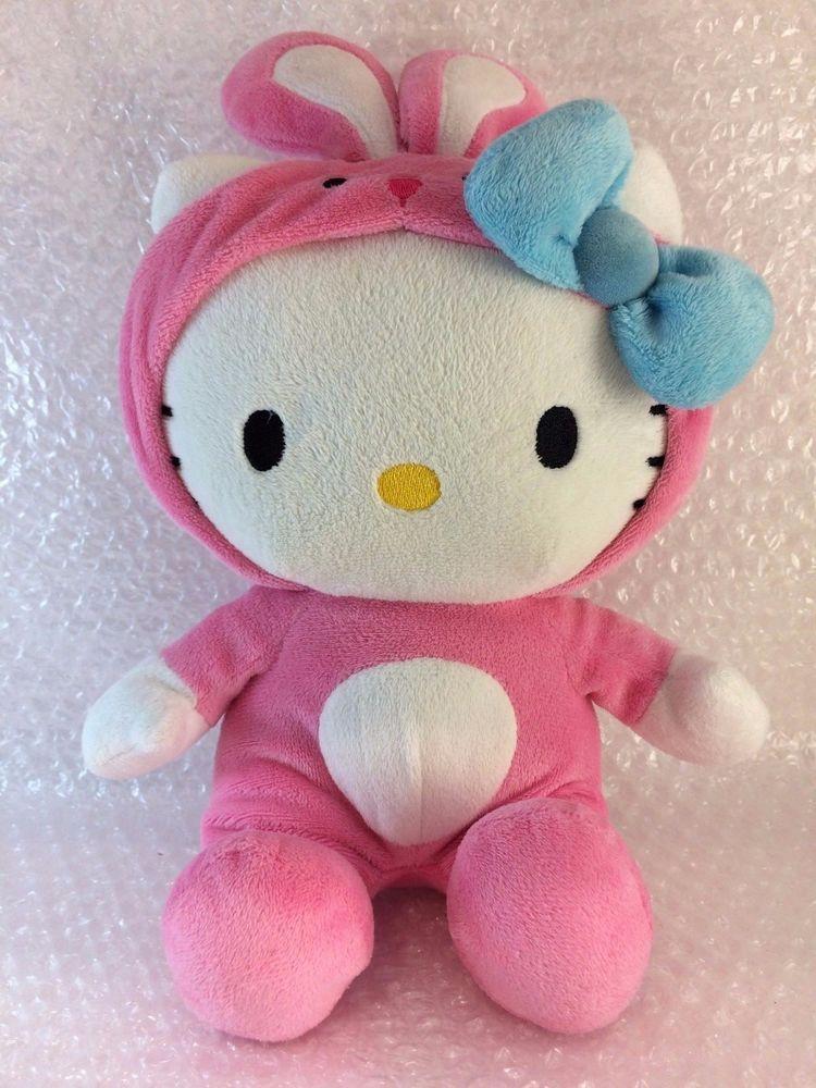 a4362454e Hello Kitty Sanrio Soft Toy Plush 12