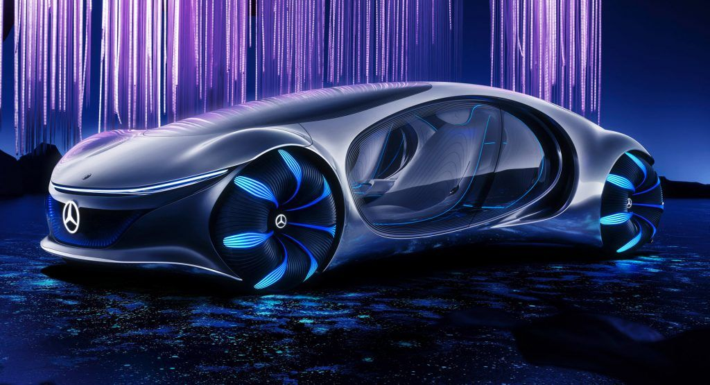 Mercedes-Benz' Avatar-Inspired Vision AVTR Brings Man, Machine, And Nature Together As One   Carscoops