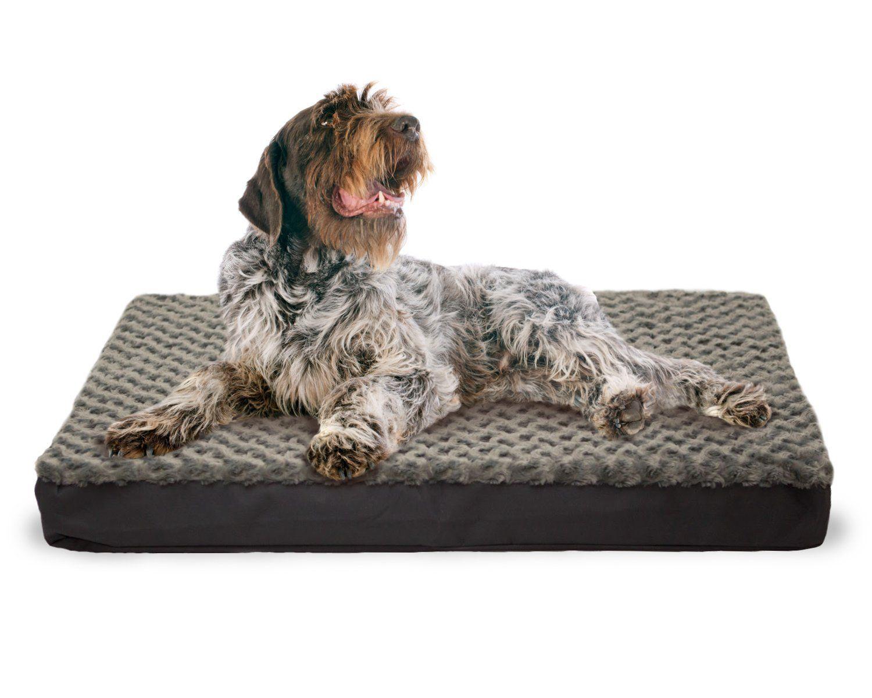 furhaven nap pet bed egg crate orthopedic pet mattress deluxe dog or