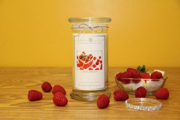 Creme Brulee Jewelry Candles