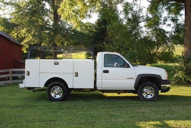 2007 Chevy 2500 Hd Duramax Diesel Utility Truck Trucks For Sale Duramax Utility Truck
