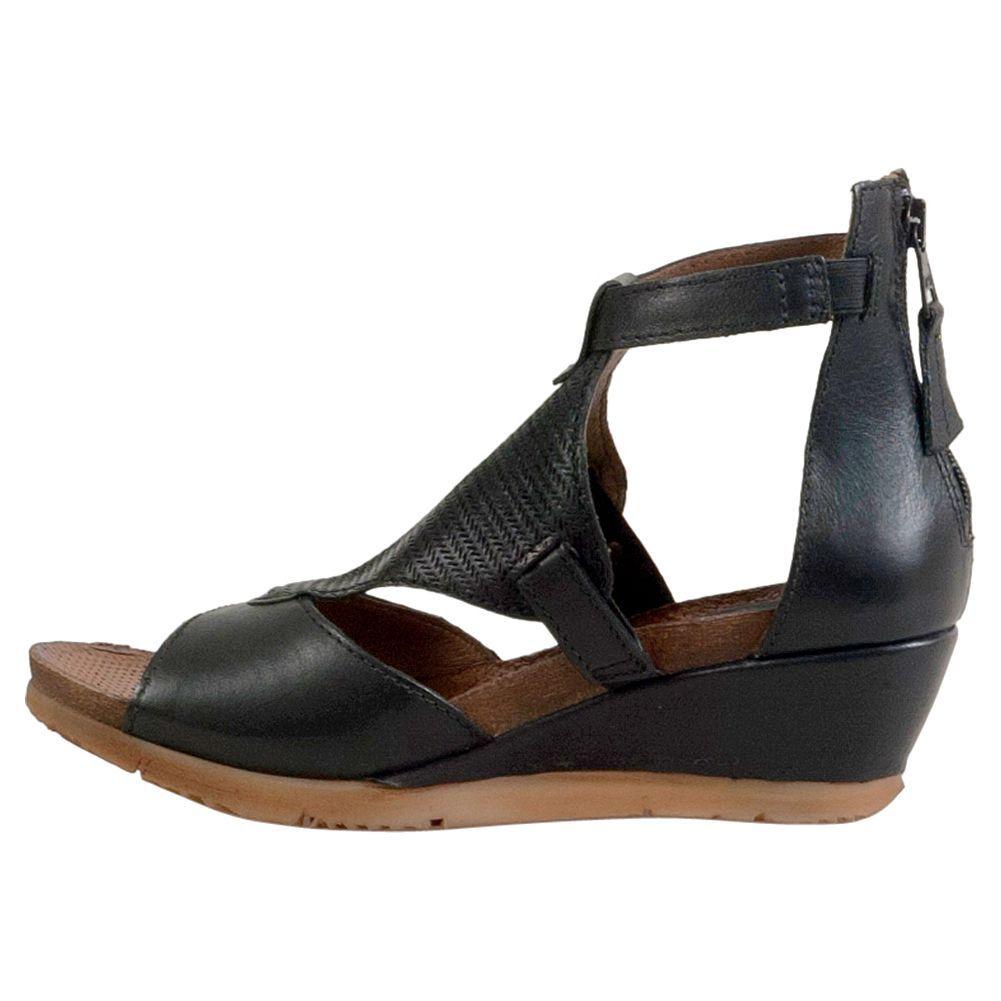744ae26949f2 Miz Mooz Maisie Women s Wedge Sandal