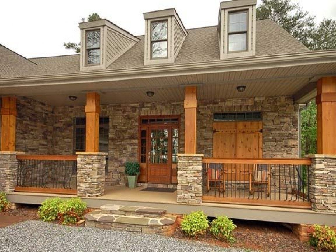 Image Result For Cedar Columns For Front Porch House With Porch