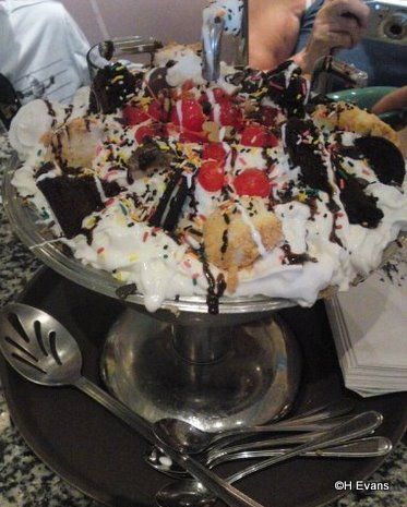 The Kitchen Sink At Beaches And Cream At The Beach Club Is Huge