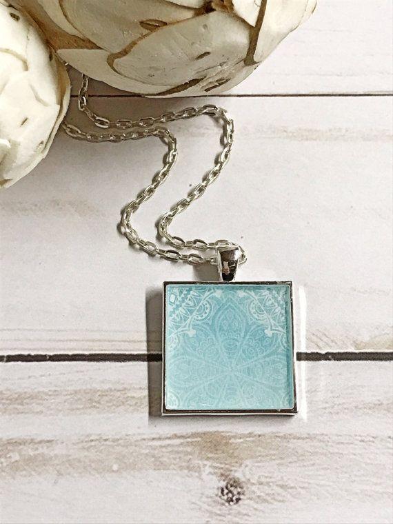 Turquoise zen necklace turquoise zen by GracieLouDesignsCo