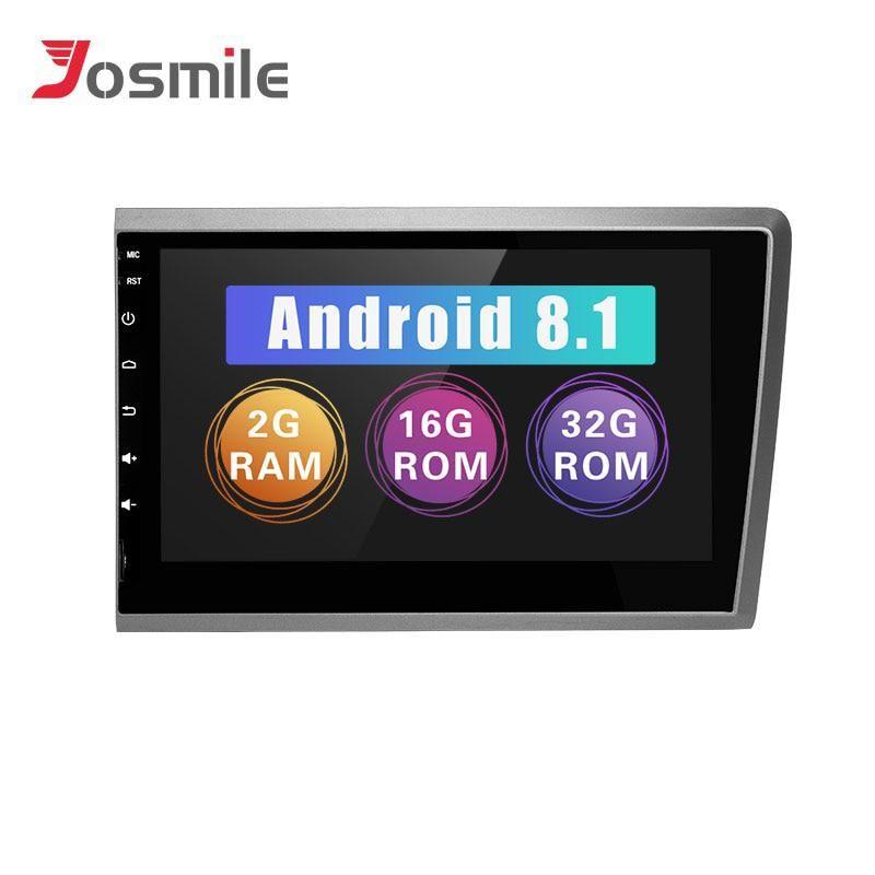 2 din Android 8 1 Car Radio GPS For VOLVO S60 VOLVO V50 V70
