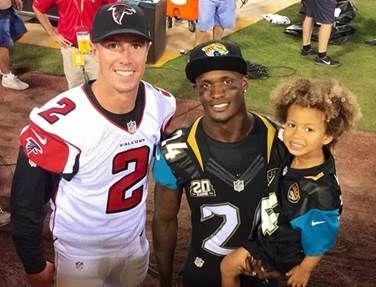 #MattRyan and #WillBlackmon at this past Thursday's game #AtlantaFalcons #JacksonvilleJaguars