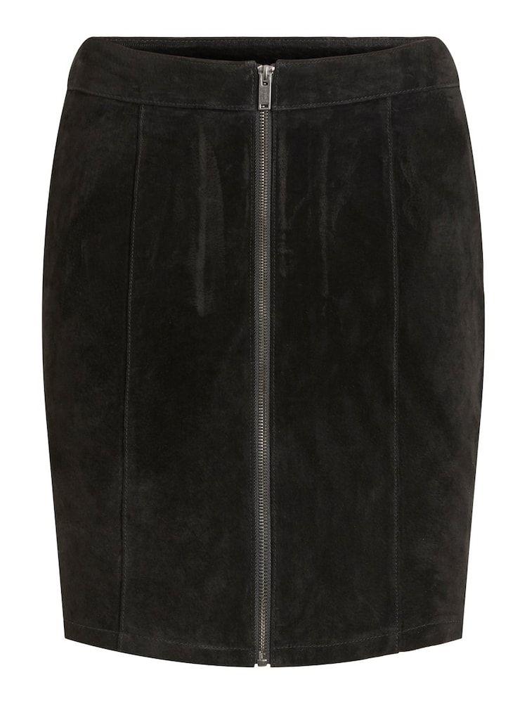 PU Leder Rock Für Frauen Hohe Taille Büro Tragen Röcke Plus Größe  Rock mit