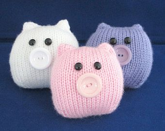 Quick and Easy Cats - INSTANT DOWNLOAD PDF Knitting Pattern
