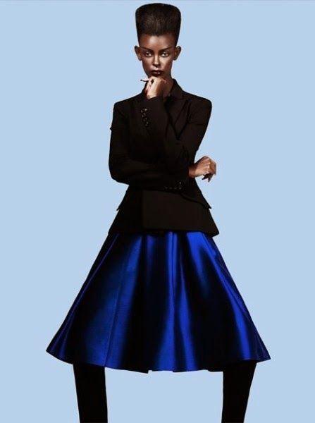 Rwanda's Happy Umurerwa poses Lanvin, img1c99c37665ec135c9