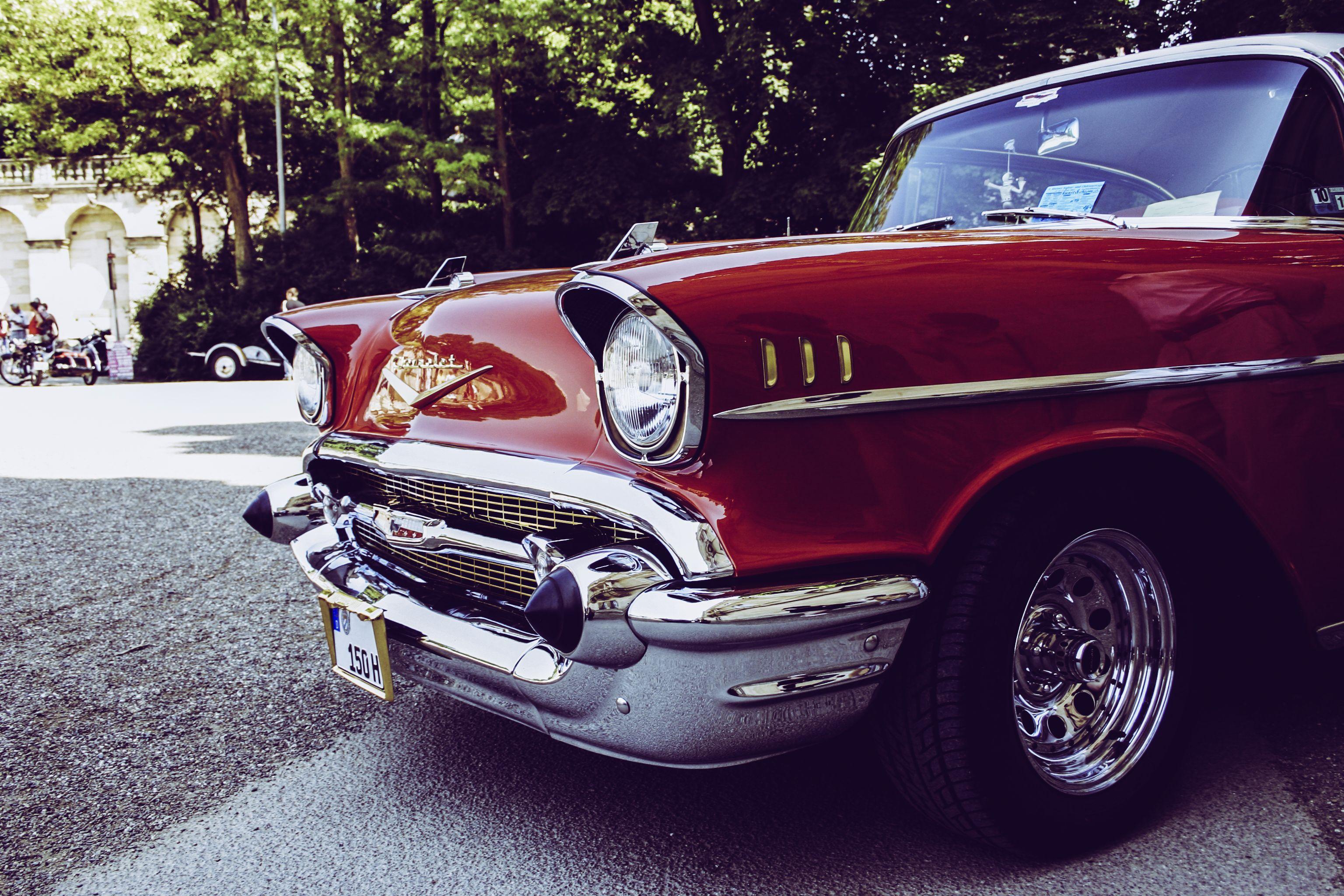 Car #lights #Retro #Side view | HD Wallpaper | Pinterest | Car ...