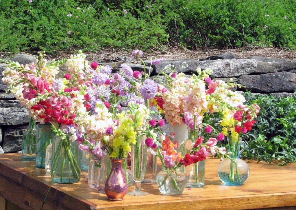 Main Table Flower Arrangements