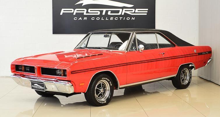 Dodge Charger R T 1973 Vermelho Tudor Pastore Car Collection
