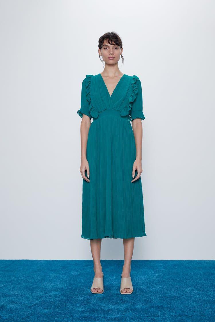 Textured Weave Shirt Zara United States Plissierte Kleider Kleider Falten [ 1125 x 750 Pixel ]