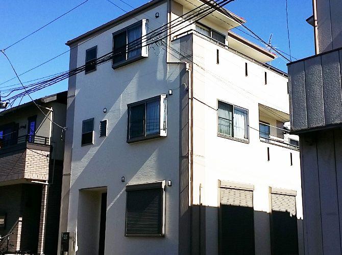 東京都葛飾区の外壁塗装 屋根塗装工事の施工事例 20160004 塗装