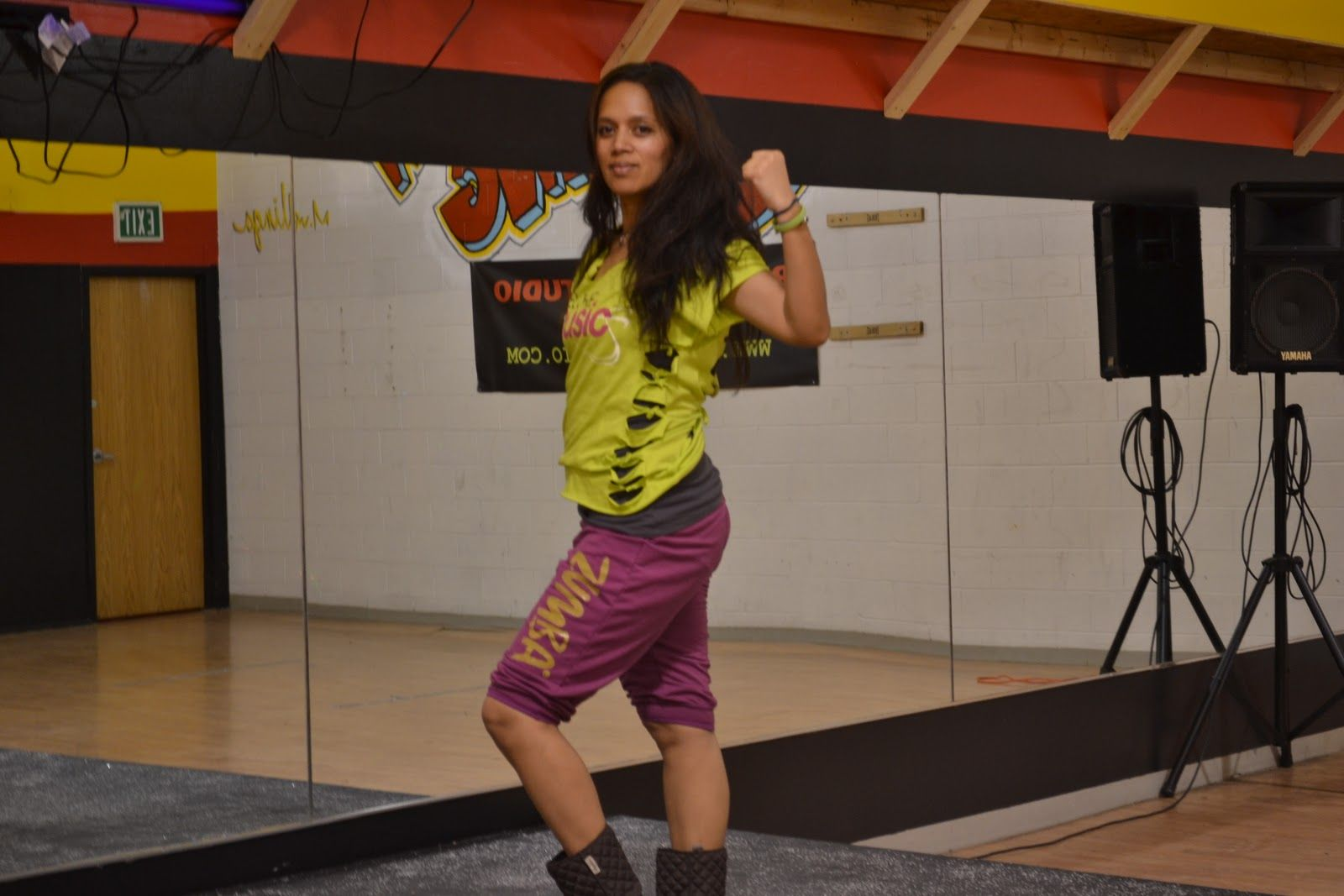 T-shirt design for zumba - Tutorial How To Make Your Own Slashed Up Zumba Shirt With Tui Aiono
