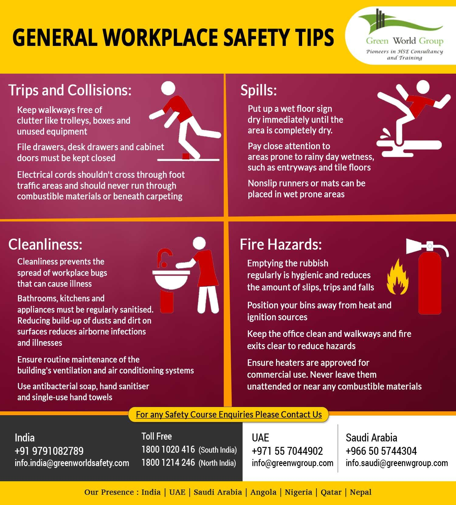 Learn The Tips To Help Your Employees Implement Workplace Safety