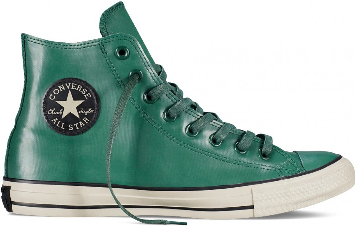Converse Chuck Taylor All Star Rubber Sneaker in Gloom Green/Black/Papyrus