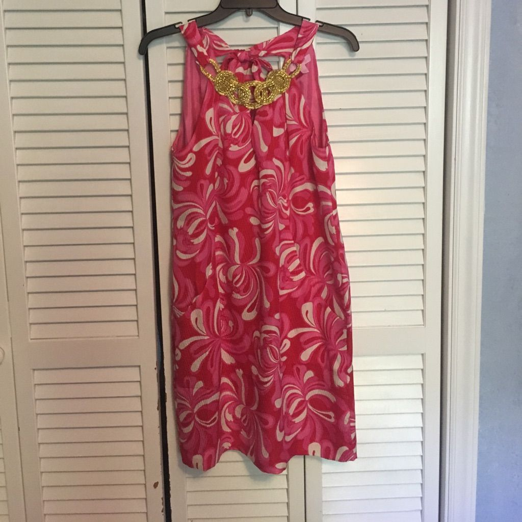 Lilly pulitzer silk dress with pockets products