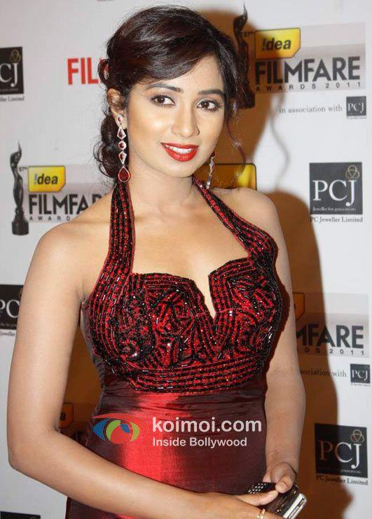 Shreya Goshal Young Contemporary Bollywood Singer  Indian Actress  Indian Idol -4139