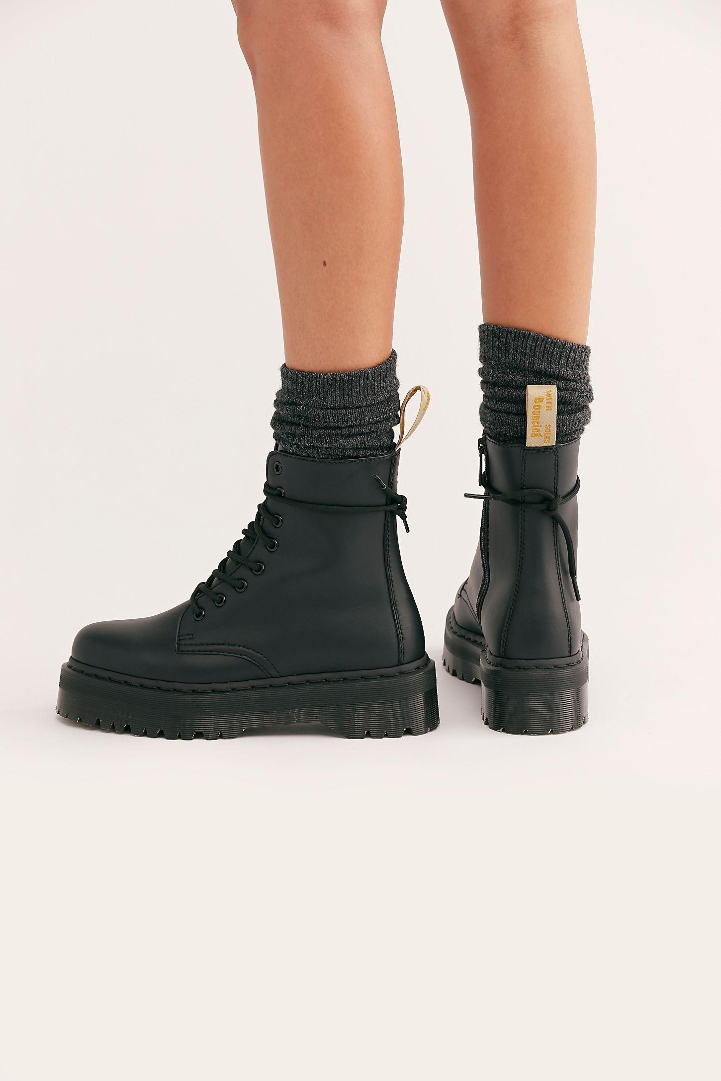 ASOS DESIGN – Ray – Klobige Stiefel mit Reißverschluss