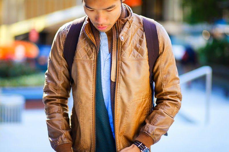 Camo Dockers Levitate Style Leather Jacket Leather Jacket Men Jackets