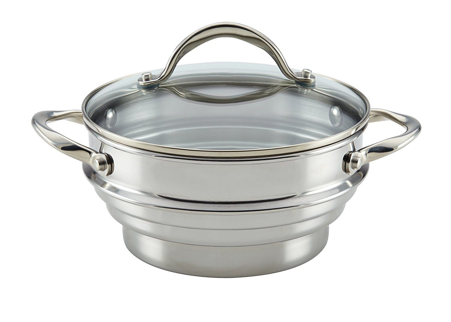 Anolon 77447 classic stainless steel universal covered