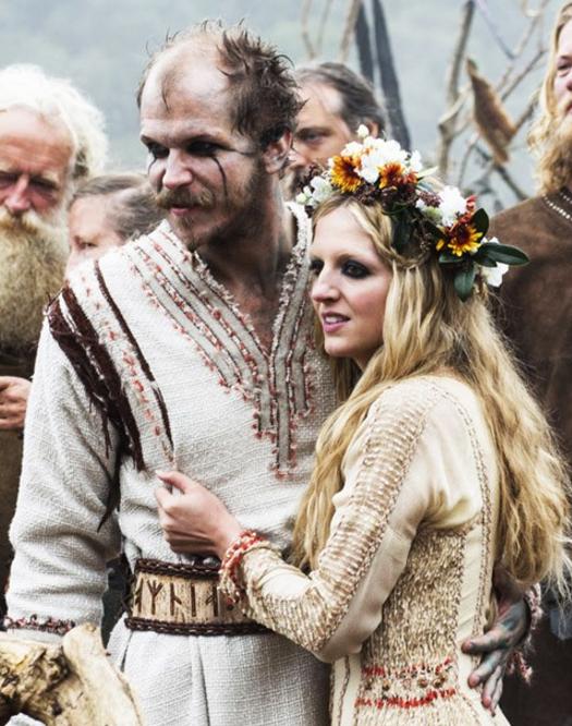 Floki and Helga, Vikings