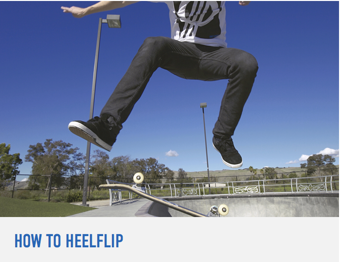 How To Heelflip Braille Skateboarding Skateboard Workout Make It Simple