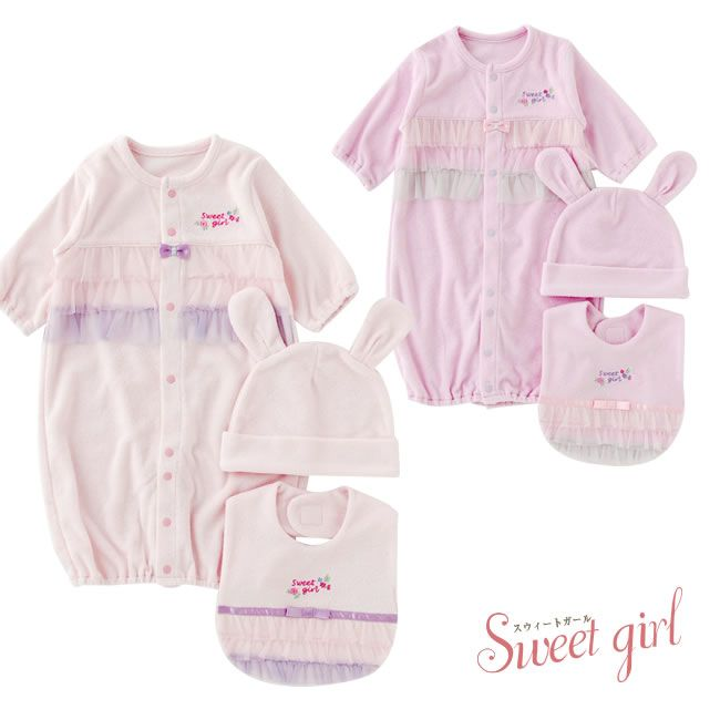 1e3674ee71af2  楽天市場 スウィートガール 出産祝い 女の子 春 夏 秋 冬 ギフト セット 新生児