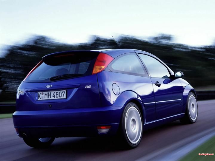 Ford Focus Rs 2002 Ford Pinterest Focus Rs Ford Focus And Ford