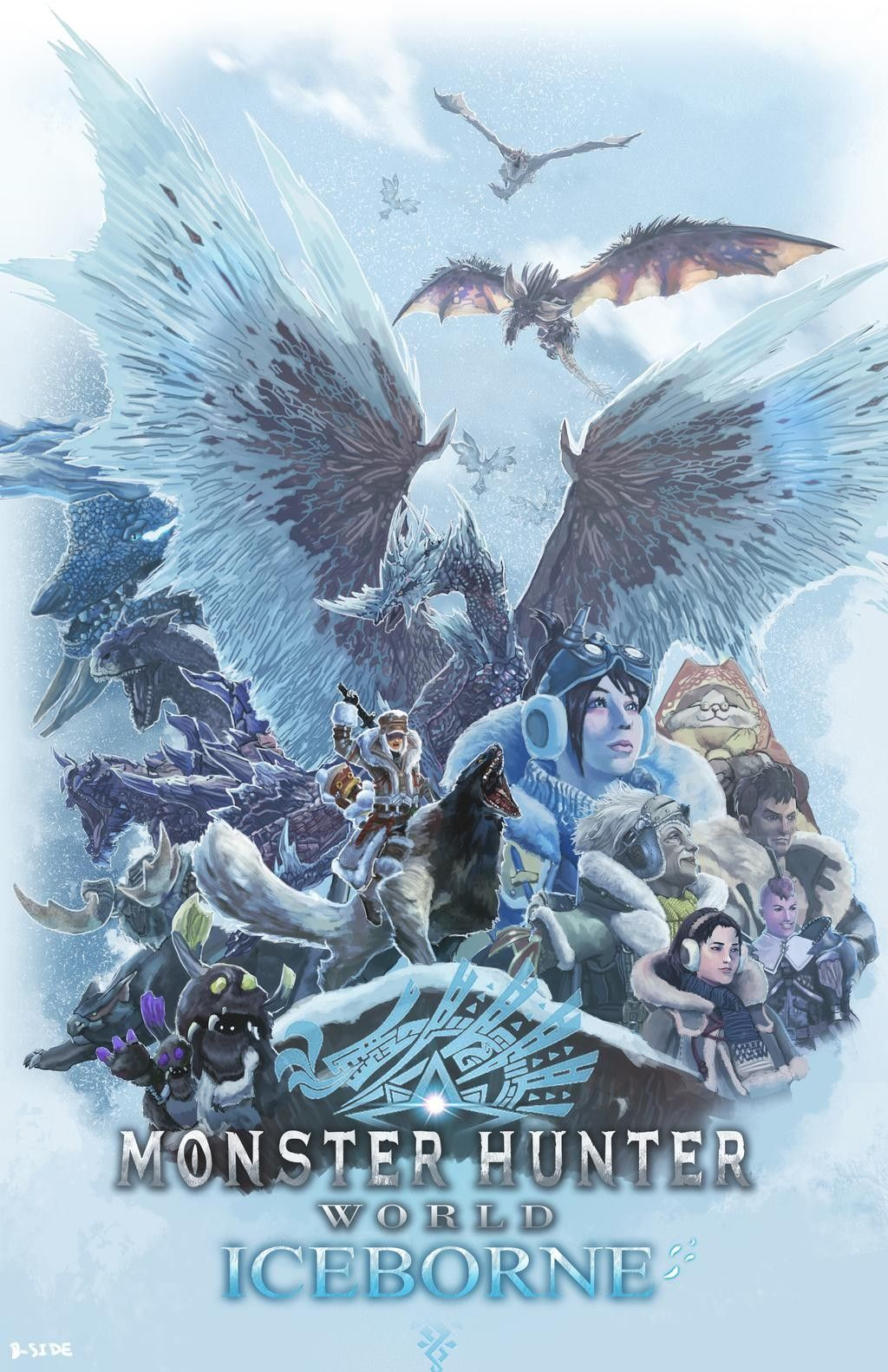 By B Side7715 In Monster Hunter World Monster Hunter Series Monster Hunter Art