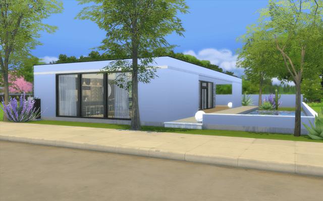 villa moderne sims 4 | Sélection de maison Sims 4 à télécharger ...