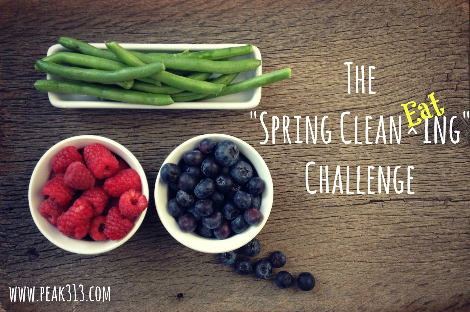"""The 7 Day """"Spring Clean EATing"""" Challenge 