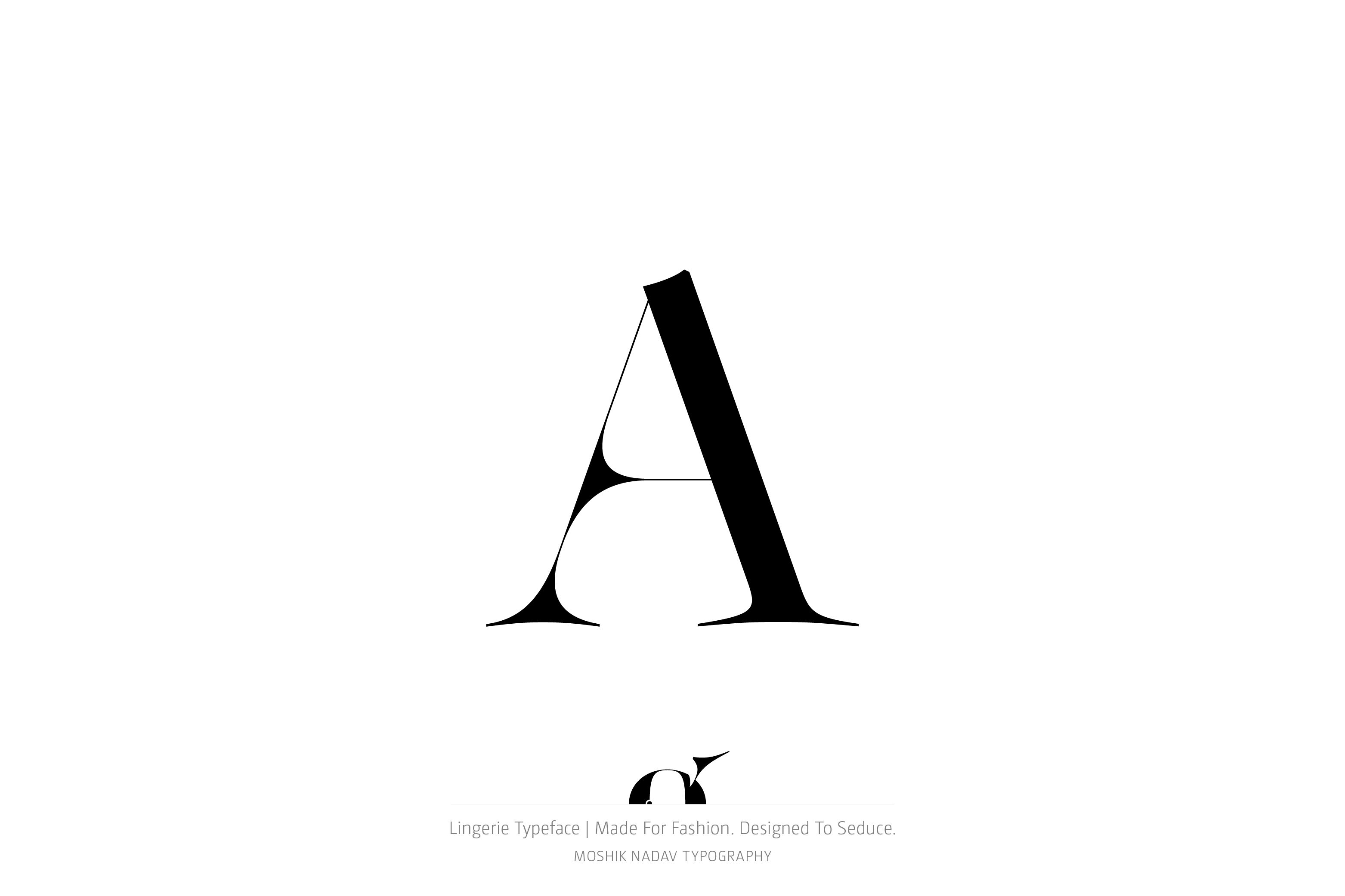 Lingerie typeface | Fashion fonts, Editorial layout and Typography ...