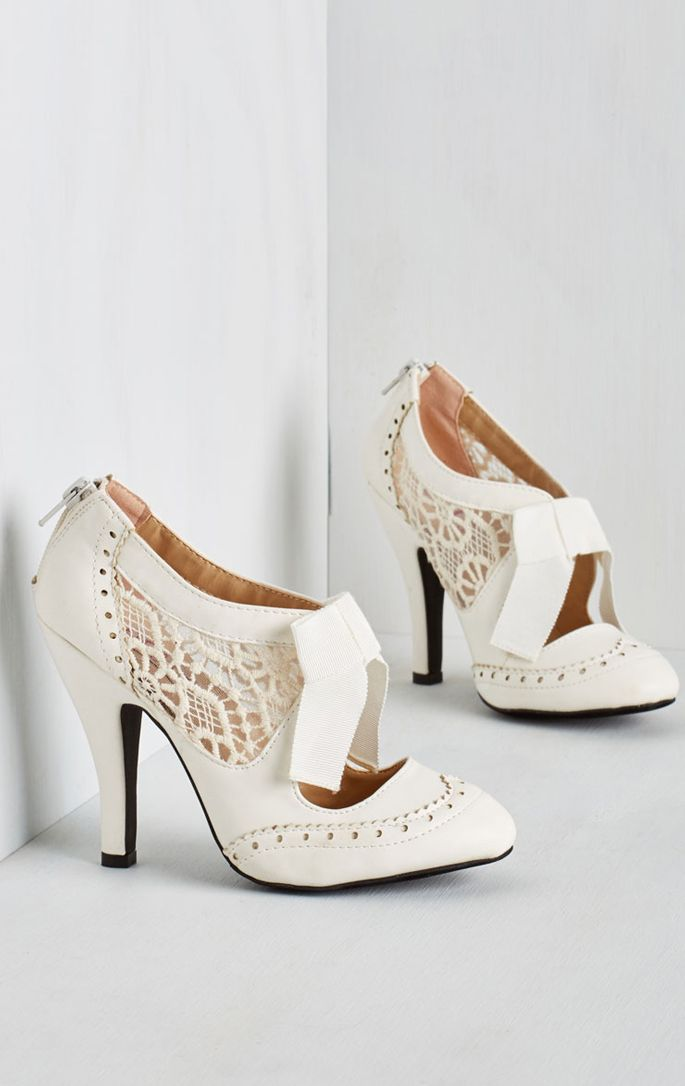 Cute bridal heels  8650c6db8