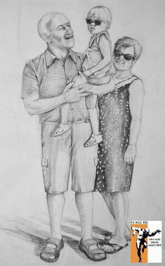 Dede Nene Torun Yaz Tatili Imgesel Imgesel Pinterest Drawings