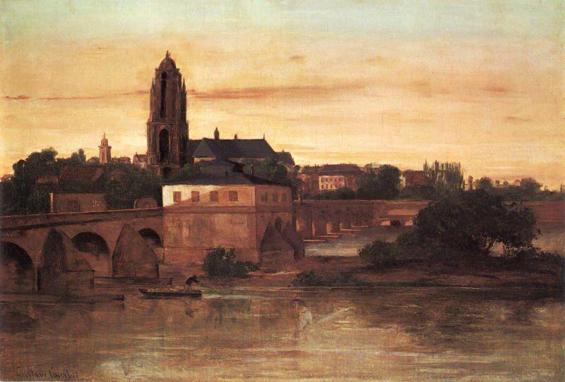 'Frankfurt' von Gustave Courbet (1819-1877, France)