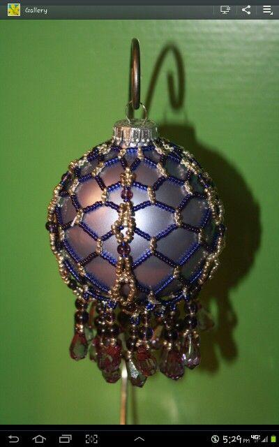 "Beaded ornament (no info) (I'm not ""user"")"