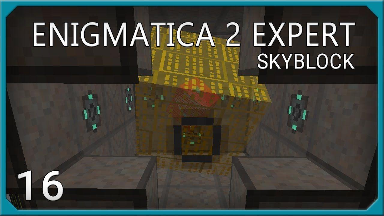 Enigmatica 2 Skyblock Expert EP16 Mechanism Reactor - POWER