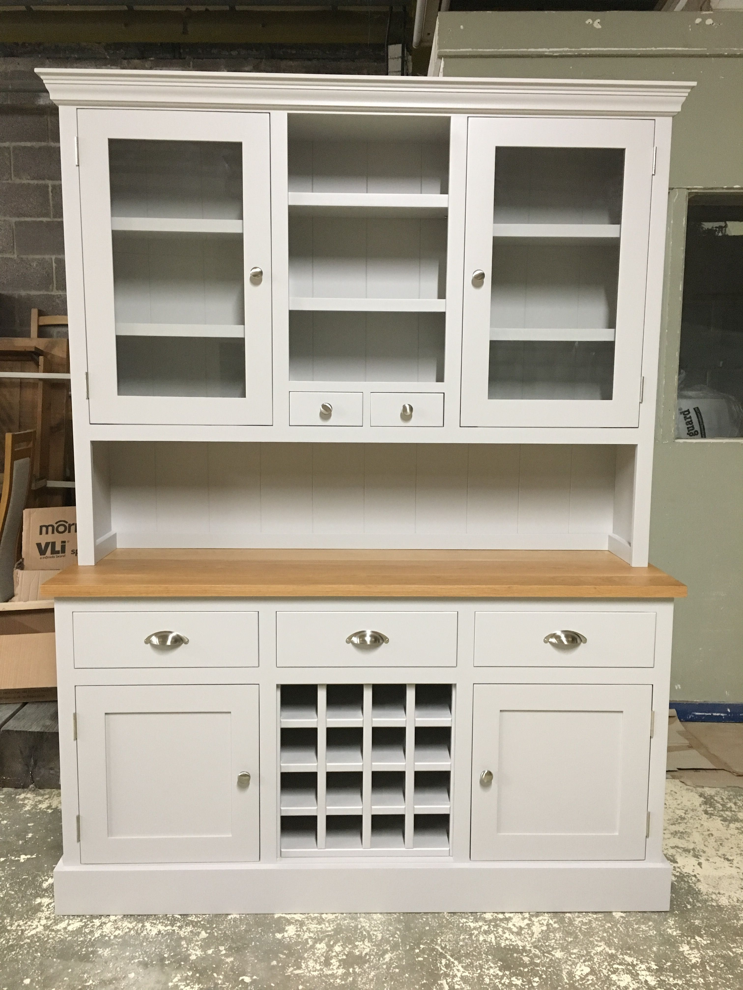 Best This Lovely Bespoke Dresser Unit Is Painted In Farrow And 640 x 480