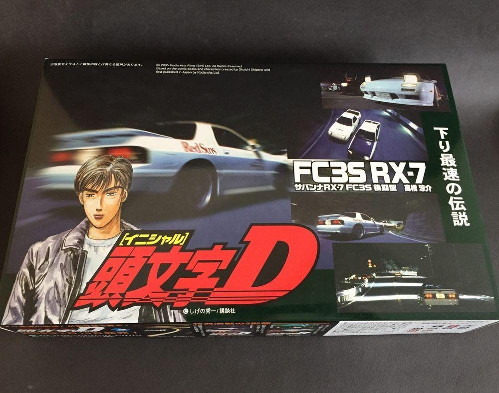 Japan Fujimi Mazda Rx7 Turbo Initial D Fc35 Rx 7 1 24 Scale Models Kits Scale Model Kit Model Kit Mazda Rx7
